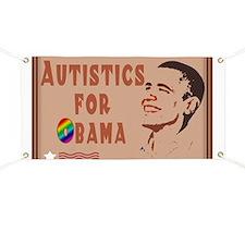 Autistics for Obama Banner