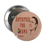 "Autistics for Obama 2.25"" Button (10 pack)"