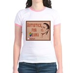 Autistics for Obama Jr. Ringer T-Shirt