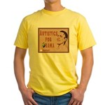 Autistics for Obama Yellow T-Shirt