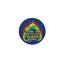 Autistic Human Being Mini Button (100 pack)