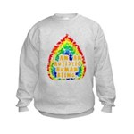 Autistic Human Being Kids Sweatshirt