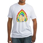 Autistic Human Being Fitted T-Shirt