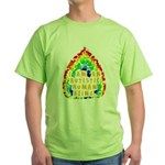 Autistic Human Being Green T-Shirt