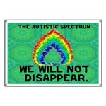 AS: We Will Not Disappear Banner