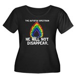 AS: We Will Not Disappear Women's Plus Size Scoop