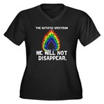 AS: We Will Not Disappear Women's Plus Size V-Neck