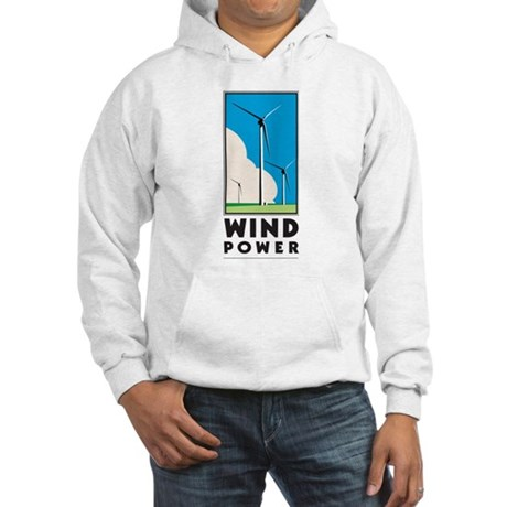 Wind Power Hooded Sweatshirt