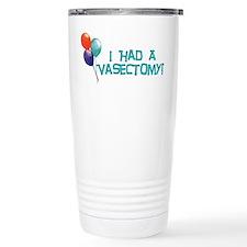 Vasectomy Travel Coffee Mug