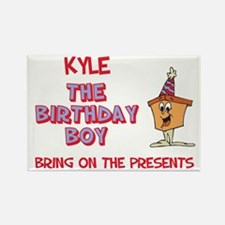 Kyle - The Birthday Boy Rectangle Magnet