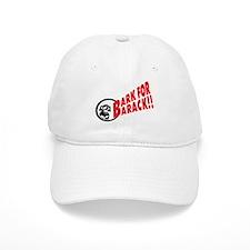 Bark for Barack Obama Baseball Cap