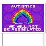 We Will Not Be Assimilated Yard Sign