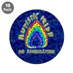 "Autistic Pride 3.5"" Button (10 pack)"