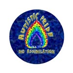 "Autistic Pride 3.5"" Button (100 pack)"