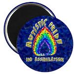"""Autistic Pride 2.25"""" Magnet (10 pack)"""