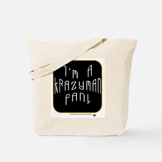 Krazyman Fan Tote Bag