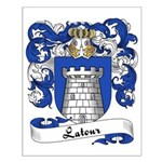 Latour Family Crest Small Poster