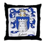 Latour Family Crest Throw Pillow