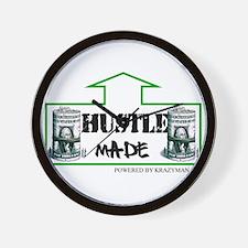Hustle Made Wall Clock
