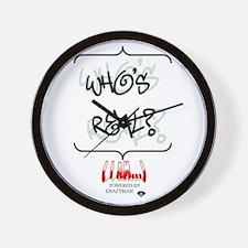 Who's Real Wall Clock