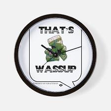 Wassup Wall Clock