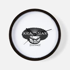 Krazyman Logo Wall Clock