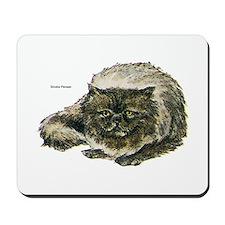Smoke Persian Cat Mousepad