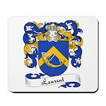 Laurent Family Crest Mousepad