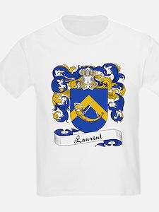 Laurent Family Crest Kids T-Shirt