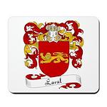 Laval Family Crest Mousepad