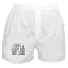 I Wear Grey For The Cure 16 Boxer Shorts