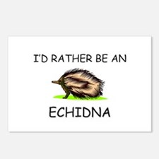 I'd Rather Be An Echidna Postcards (Package of 8)
