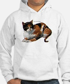 Calico Cat (Front) Hoodie