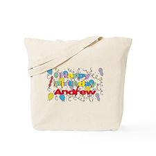 Happy Birthday Andrew Tote Bag
