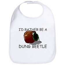 I'd Rather Be A Dung Beetle Bib