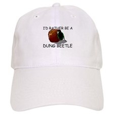 I'd Rather Be A Dung Beetle Baseball Cap
