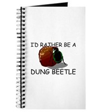 I'd Rather Be A Dung Beetle Journal