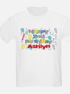 Ashlyn's 2nd Birthday T-Shirt