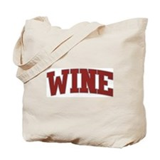 WINE Design Tote Bag