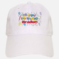 Happy Birthday Braden Baseball Baseball Cap