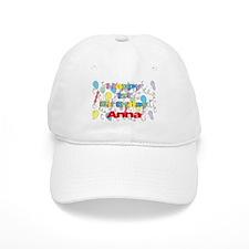 Anna's 1st Birthday Baseball Cap