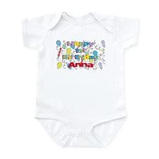 Anna's 1st Birthday Infant Bodysuit