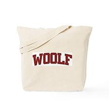 WOOLF Design Tote Bag