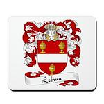 Lebrun Family Crest Mousepad