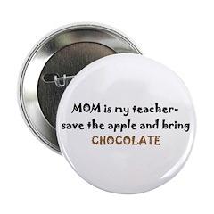 Button - mom teacher