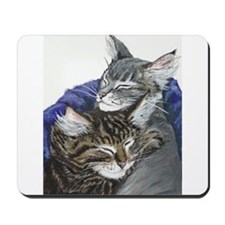 Sleepy Kittens Mousepad