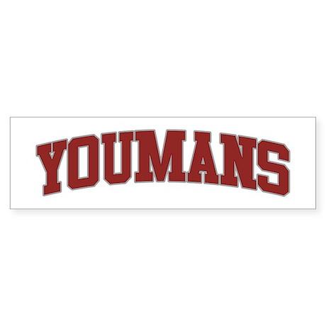 YOUMANS Design Bumper Sticker