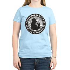 Genealogy Detectives Women's Light T-Shirt