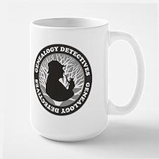 Genealogy Detectives Large Mug