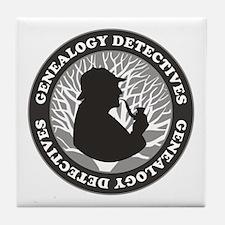 Genealogy Detectives Tile Coaster